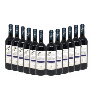 3 Botellas Vino Tinto Señorio de Zocodover Crianza 2010