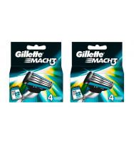 Pack 8 Cuchillas Gillete Mach 3