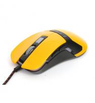 Ratón Omega Gaming OM-270 1200-1600-2400-3200DPI Amarillo