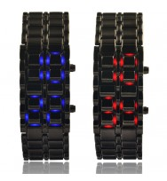 Reloj LED Samurai